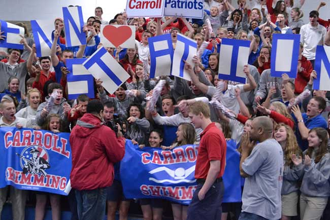 Penn Station Carroll High School Pep Rally