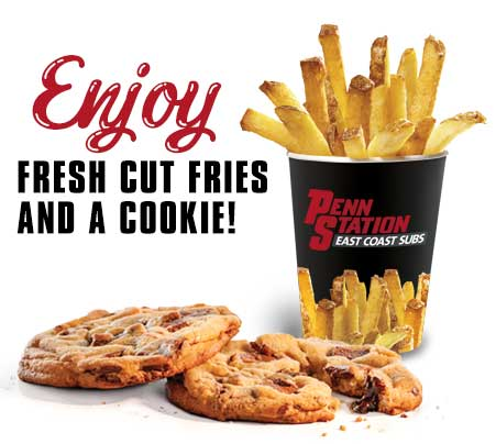 Fresh-cut fry and cookies